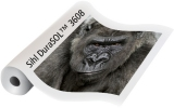 DURASOL 310 MICRON SATIN COATED PVC BANNER FILM FOR POP UPS OR RIGID DISPLAYS. 914X30M. FOR USE WITH SOLVENT INK