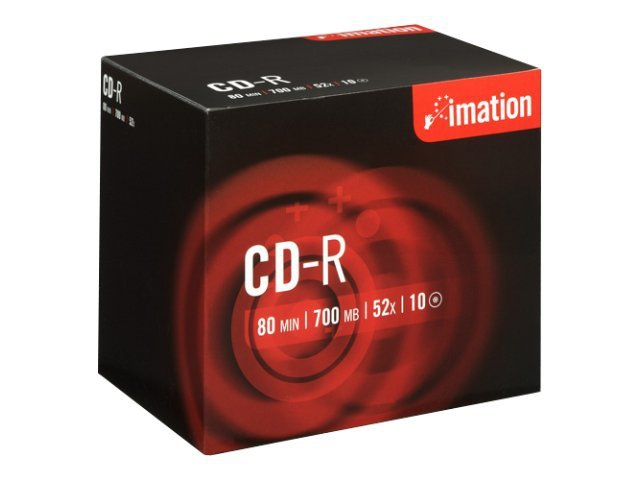 IMATION CD-R 700 MB 80MIN 52X Pack of 10