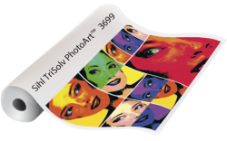 TRISOLVE PHOTOART GLOSSY PHOTO PAPER FOR SOLVENT INKS. 1067X45M ROLL