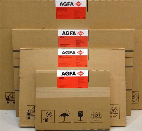 AGFA AZURA V PLATES .15 525X459 ( NEW )