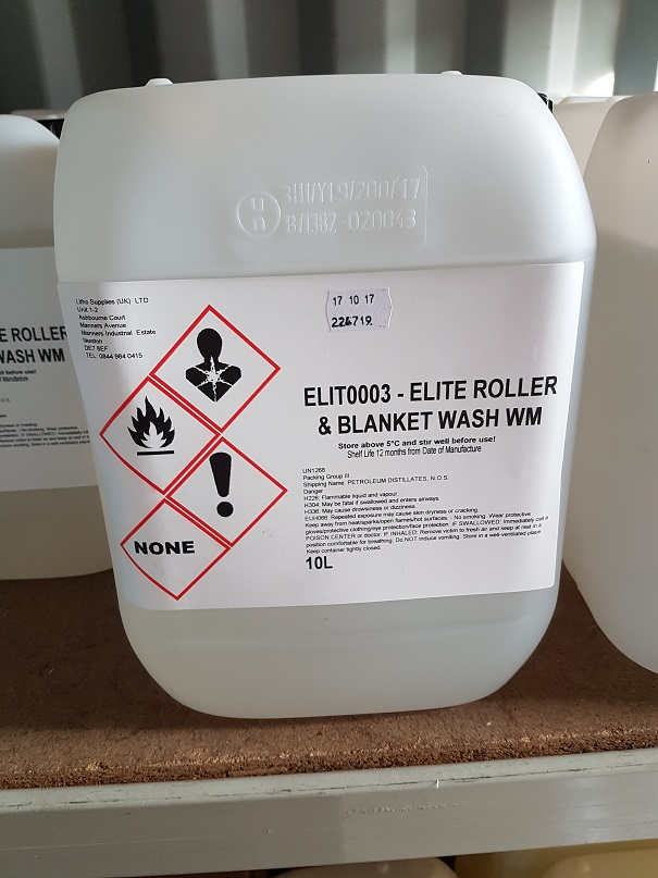 EG ELITE ROLLER & BLANKET WASH WM