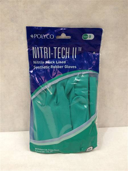 NITRI-TECH NITRILE GLOVE LARGE
