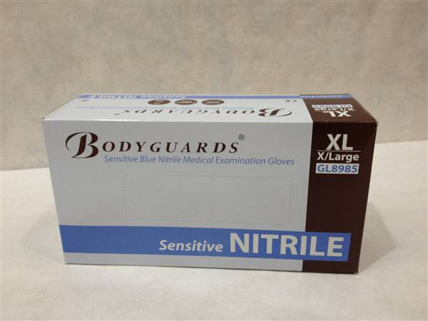 NITRILE POWDER FREE GLOVES XLARGE