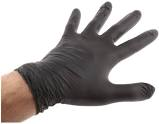 BLACK NITRILE POWDER FREE GLOVES LARGE 100 (GL8973)