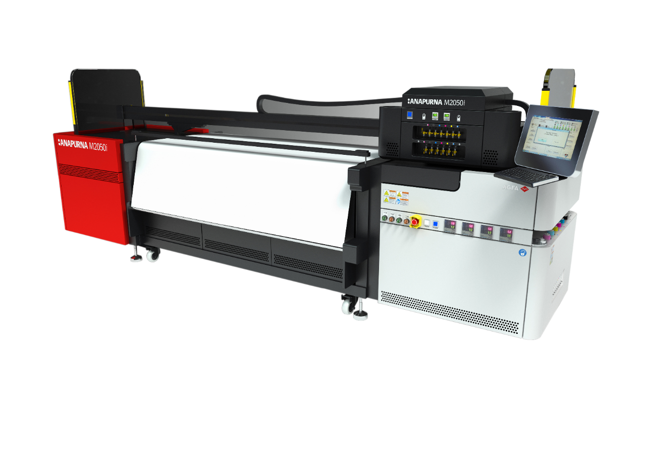 AGFA Anapurna M2050i large - wide format flatbed printer