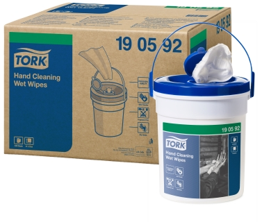 TORK HAND WET WIPES 1 X 58 190592 SINGLE BUCKET