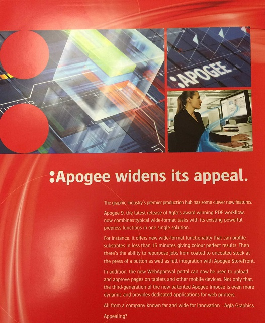 Apogee Software Range