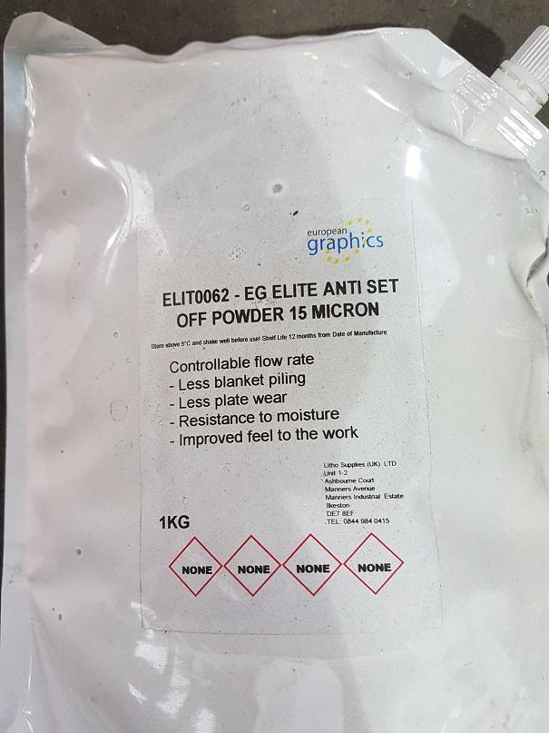 EG ELITE ANTI SET OFF POWDER 15 MICRON