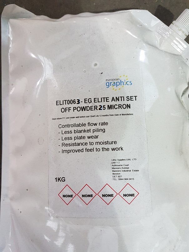 EG ELITE ANTI SET OFF POWDER 25 MICRON