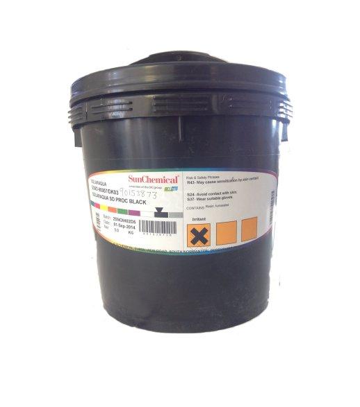 SOLARAQUA PMS 425C GREY DK03 INK MIX 5KG TUB